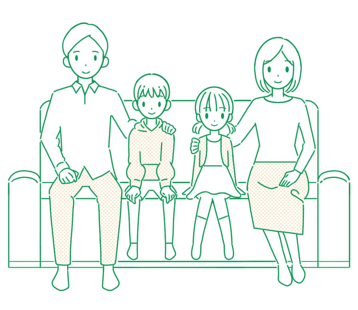家族と暮らしたい Family